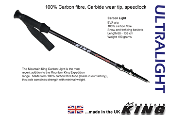 Mountain King Carbon Light