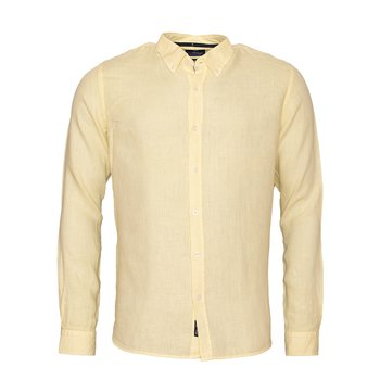 Linen Shirt Linston Light Yellow