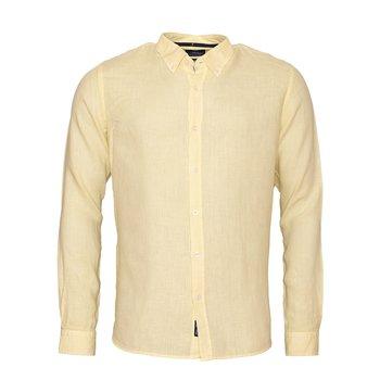 Linen Shirt Linston Light Yellow
