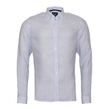 Linen Shirt Linston Blue Stripe