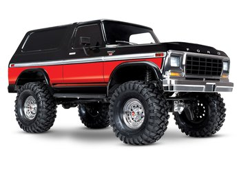 Traxxas TRX­4 Ford Bronco Ranger XLT Scale &  Trail Crawler RTR (W/O Battery and charger)