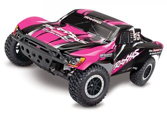 Traxxas Slash 2WD 1/10 RTR TQ PinkX with Battery/Charger
