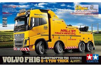 Tamiya 56362 1/14 Volvo FH16 8x4 Hinausauto  globetrotter 750