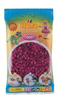 Hama 207-82 Midi beads 1000pcs Plum purple