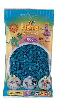 Hama 207-83 Midi helmet 1000kpl Petrol sininen