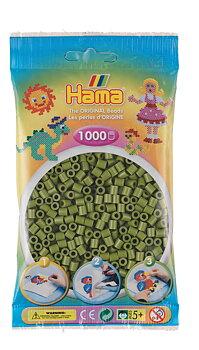 Hama 207-84 Midi beads 1000pcs olive green