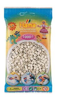 Hama 207-77 Midi beads 1000pcs cloudy white