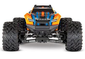 Traxxas Maxx 4x4 1/10 RTR TQi TSM Orange (ilman akku & laturi)