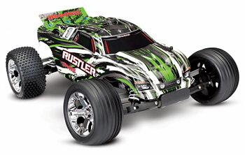 Traxxas Rustler 2WD 1:10 RTR 2.4G (ilman akku ja laturi)