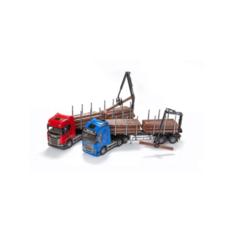 Emek 70410 Volvo FH Log Semitrailer Blue