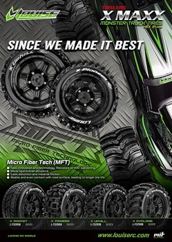 Louise L-t3297b Tires & Wheels X-UPHILL X-Maxx (MFT) (2)