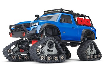 Traxxas TRX-4 with All-Terrain TRAXX Crawler RTR Blue
