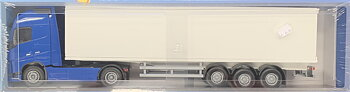 Emek 81130 Volvo FH Box Trailer truck blue
