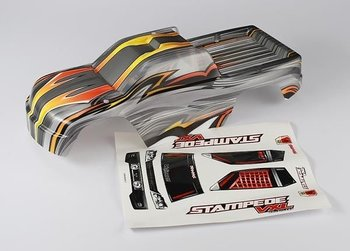 Traxxas 3617R Body Stampede VXL ProGraphix