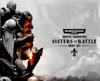 Warhammer 52-04-60 Sisters of Battle Army Set