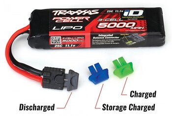 Traxxas 2943 Battery charge indicators