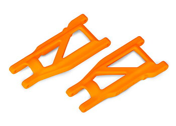 Traxxas 3655T Suspension Arms Front/Rear HD Orange (Pair)