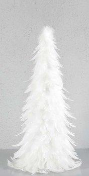 Gran Fjäder vit, 60 cm