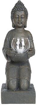 Buddha med värmeljushållare