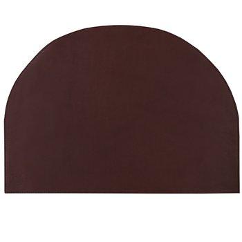 Skrivbordsunderlägg Cresent Mörkbrun