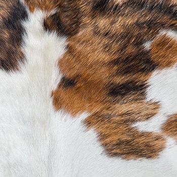 Kohud brun - vitt mönster