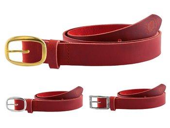 Skärp  110 cm Röd 3.5 cm