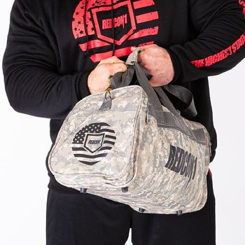 Official 2019 Rugged Camo Pack Gym Bag