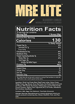 MRE LITE - Animal Based Protein