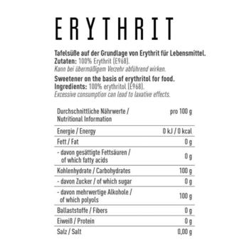 GOT7 - Erythrit, 500g