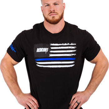 Redcon1 - RC1 Blue Line T-Shirt