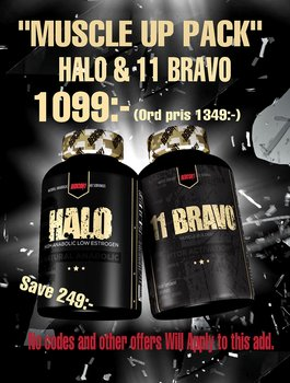 Muscle Up Pack, 11-Bravo + HALO