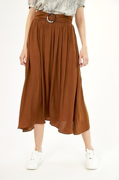 Brun kjol
