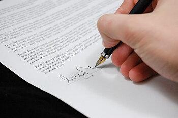 Överlåtelseavtal - Generell mall för att överlåta egendom