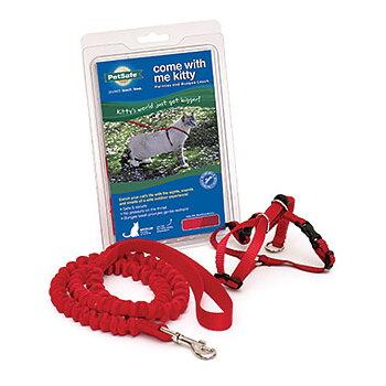 Petsafe Easy Walk kattsele och koppel ( färg röd )