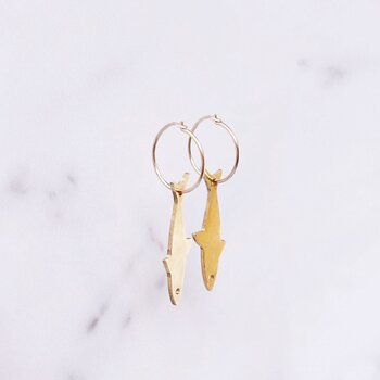 Jaws Earrings, small