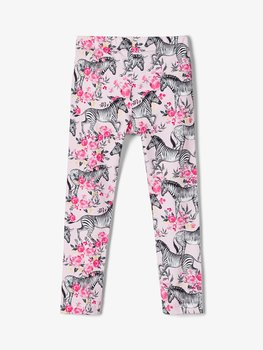 NAME IT - Mönstrade leggings