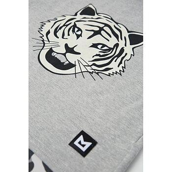 MINIKID - Longsleeve white tiger leo
