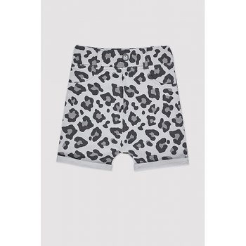 MINIKID - Shorts Grey leopard