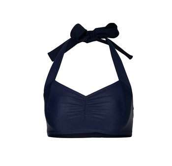 Navy simple bikini top