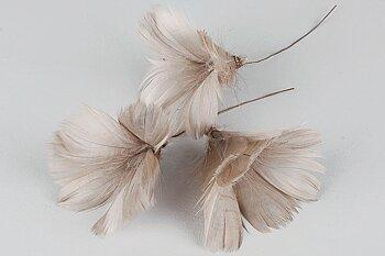 Fjäder/Tråd Blom Mullvad
