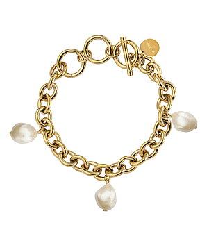 Palma pearl bracelet, Gold