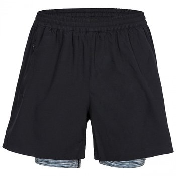 Trespass Patterson mens active shorts with inner shorts