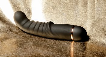 G- and P-spot Vibrator, Ribbed,