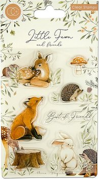 Little Fawn & Friends, Clearstamps, Craft Consortium