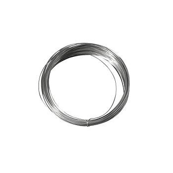 Silverpläterad koppar - metalltråd ,  ø 0,8 mm,  6m, Rayher