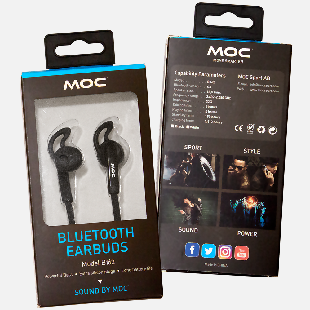 Bluetooth Earbuds Moc Move Smarter