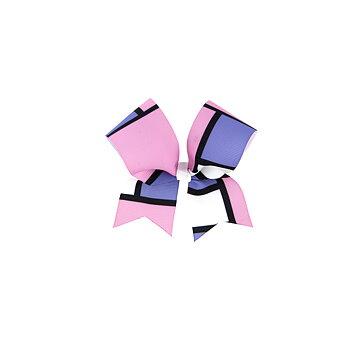 Liten Bow rutor rosa