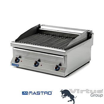 Elektrisk restauranggrill, 3 grillzoner, bredd 120 cm