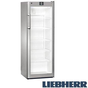 Kylskåp glasdörr, 335 liter