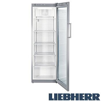 Kylskåp glasdörr, 365 liter